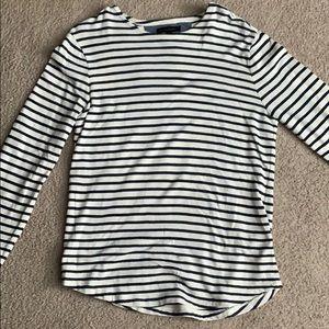 Striped Banana Republic Sweater/Tee